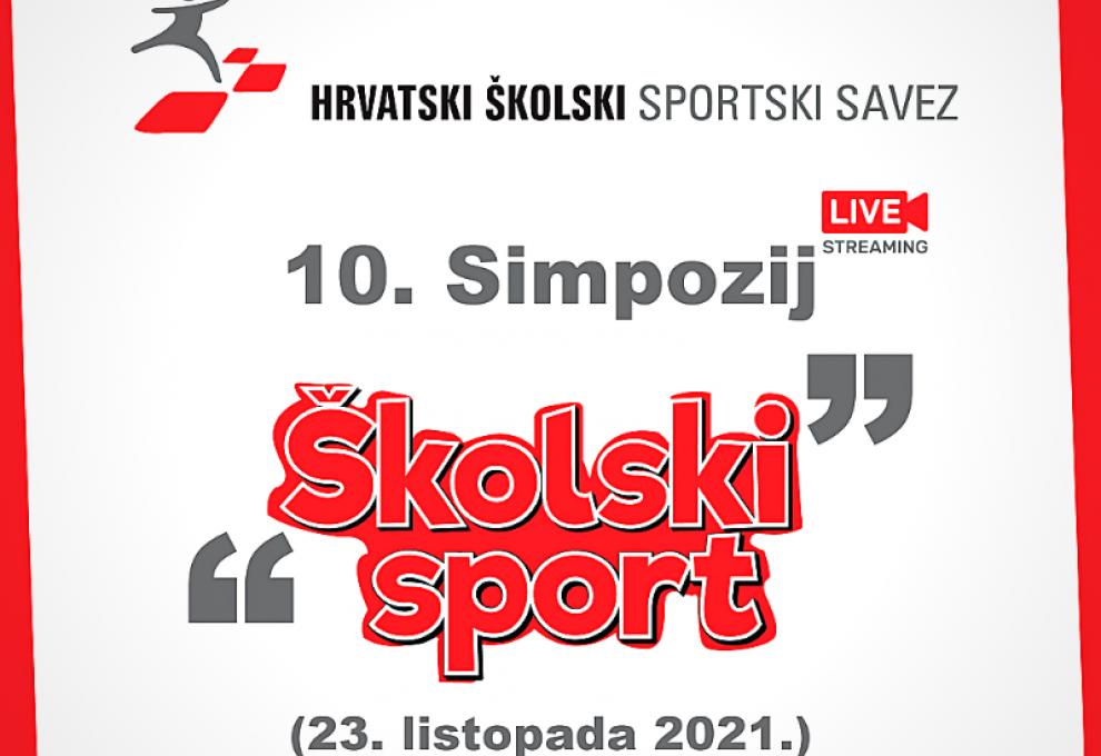 """Sportska Hrvatska Odrzan 10. simpozij »skolski sport""""; predstavljen novi Prirucnik i projekti Hrvatskog skolskog sportskog saveza"""