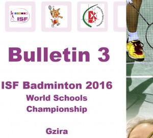 badm 3 bulletin